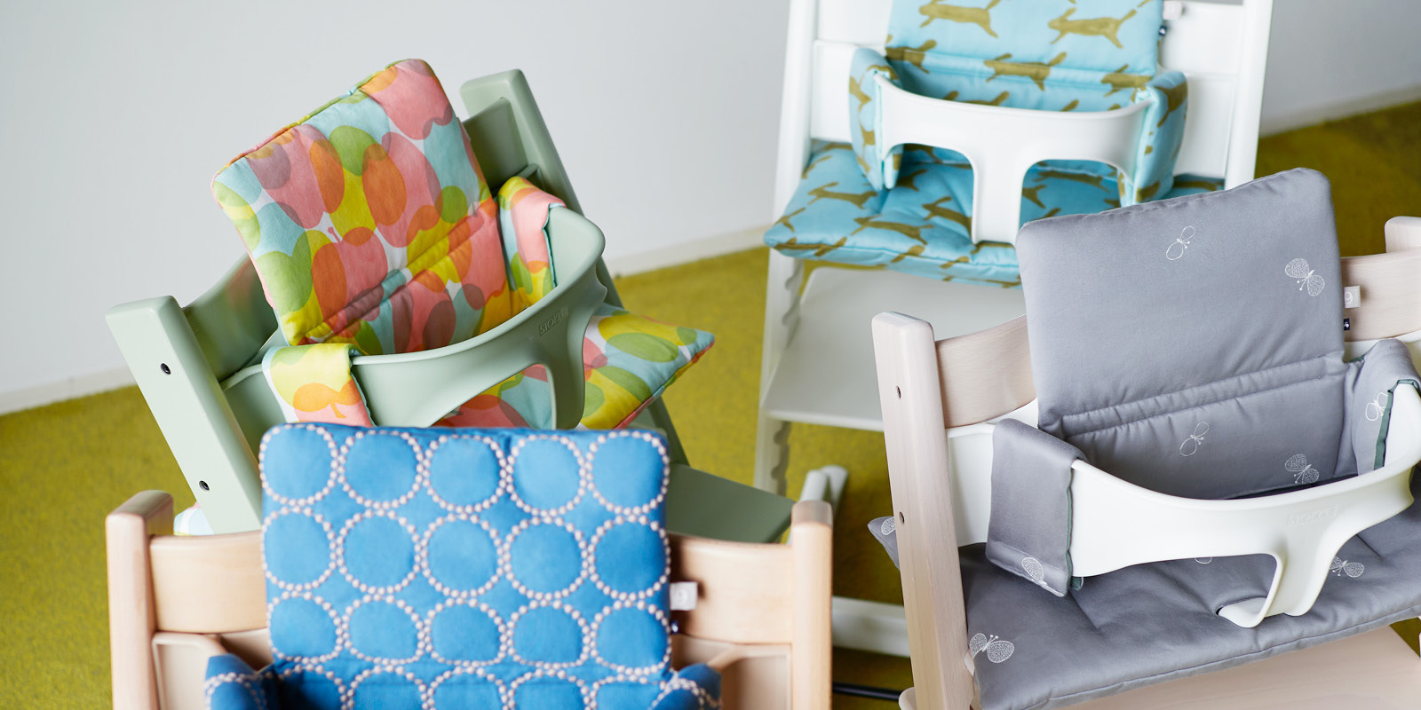 Mina Perhonen x Stokke® - Cushion Collection for Tripp Trapp®