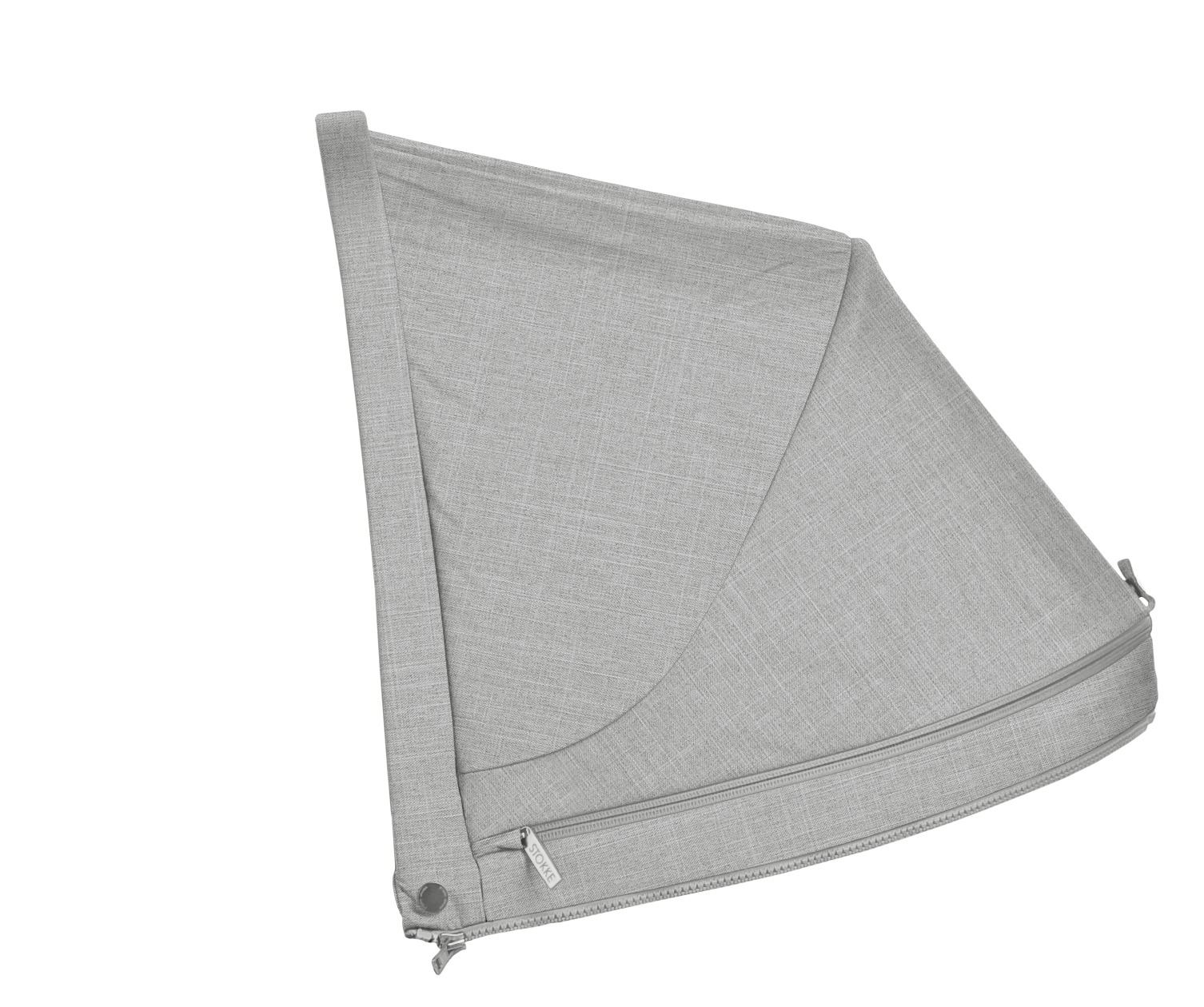 Stokke® Stroller accessories. Hood without cap, Grey Melange (Sparepart).