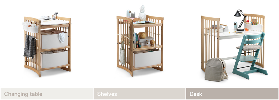 Stokke® Sleepi™ grow lione 2016.