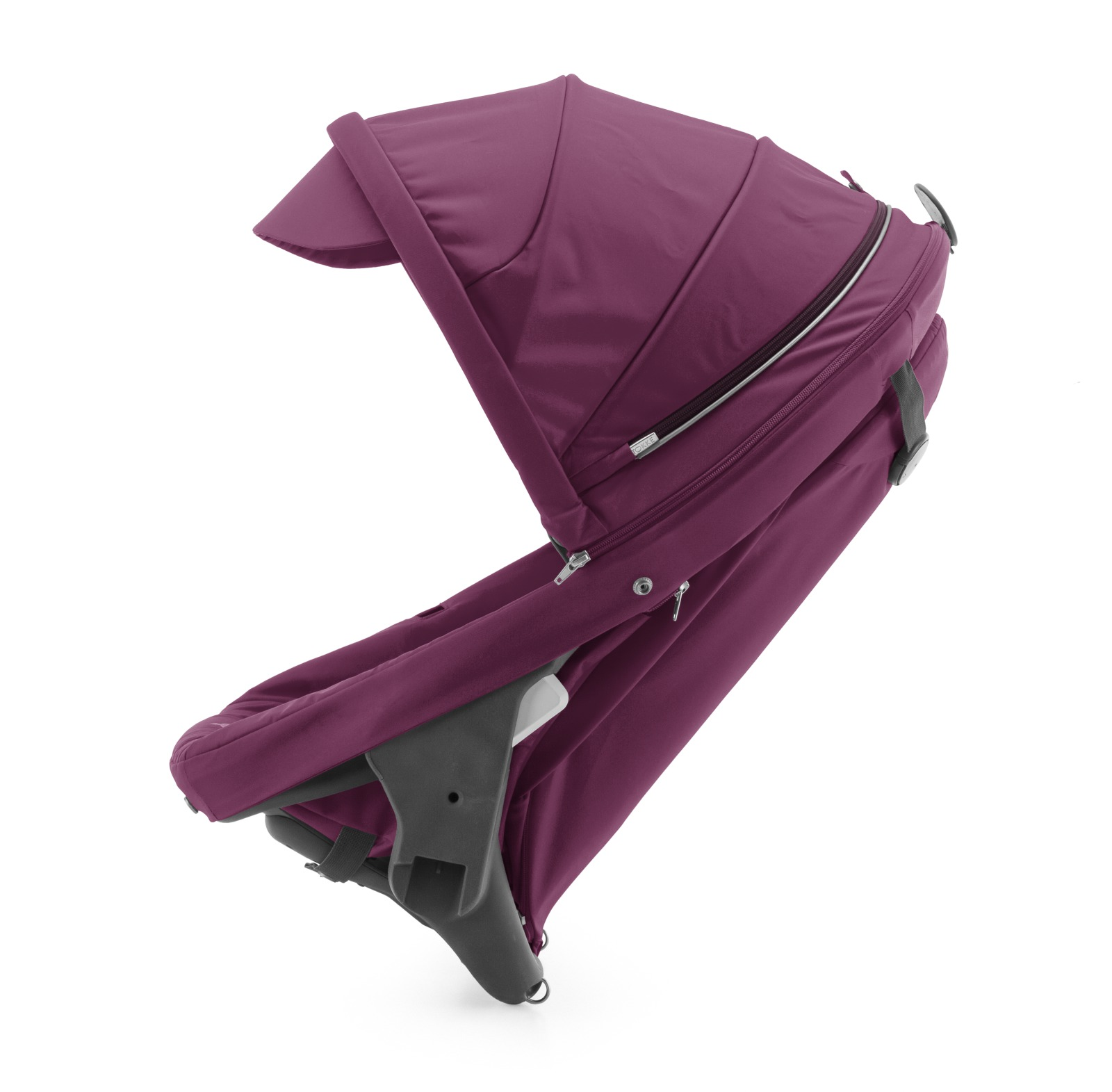 Stokke® Crusi™ Sibling Seat and sparepart seat for Stokke® Scoot™. Purple.