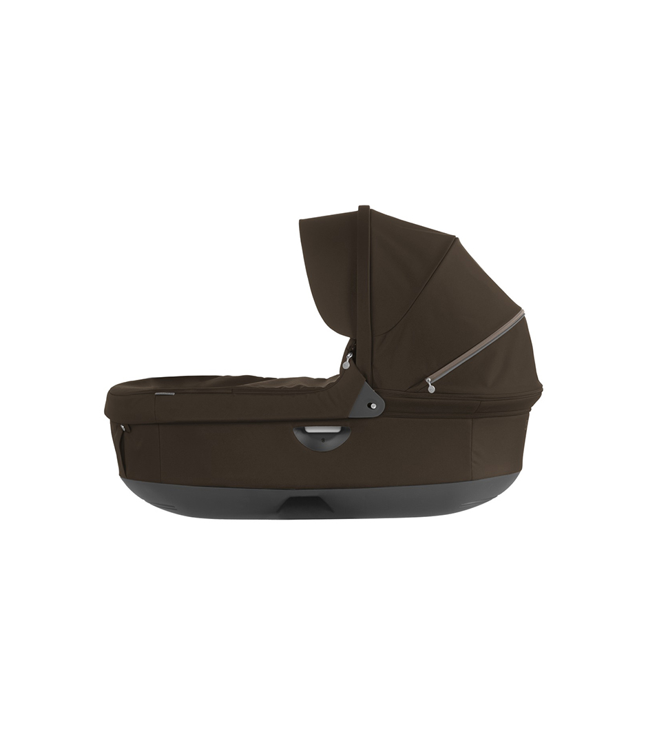 Stokke® Stroller Carry Cot. Brown. (Canopy not included).