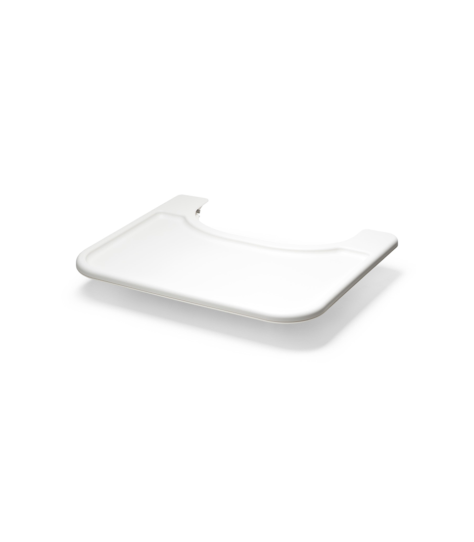 White Stokke Steps Chair Baby Set Tray