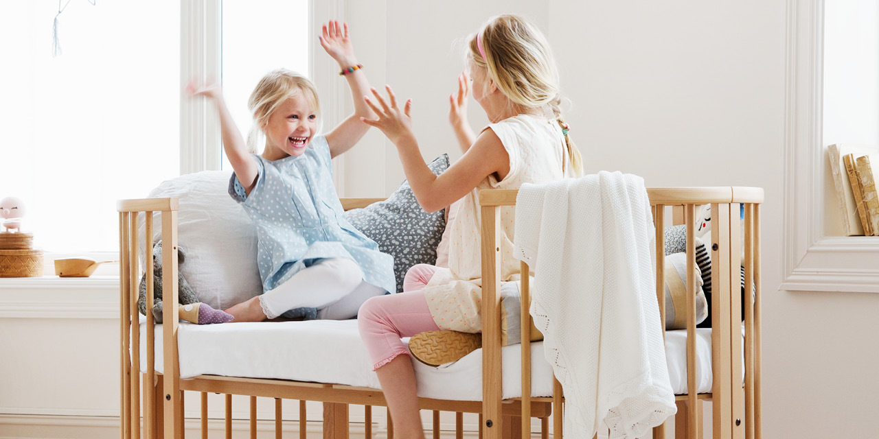 Stokke® Sleepi™ Junior in setting.