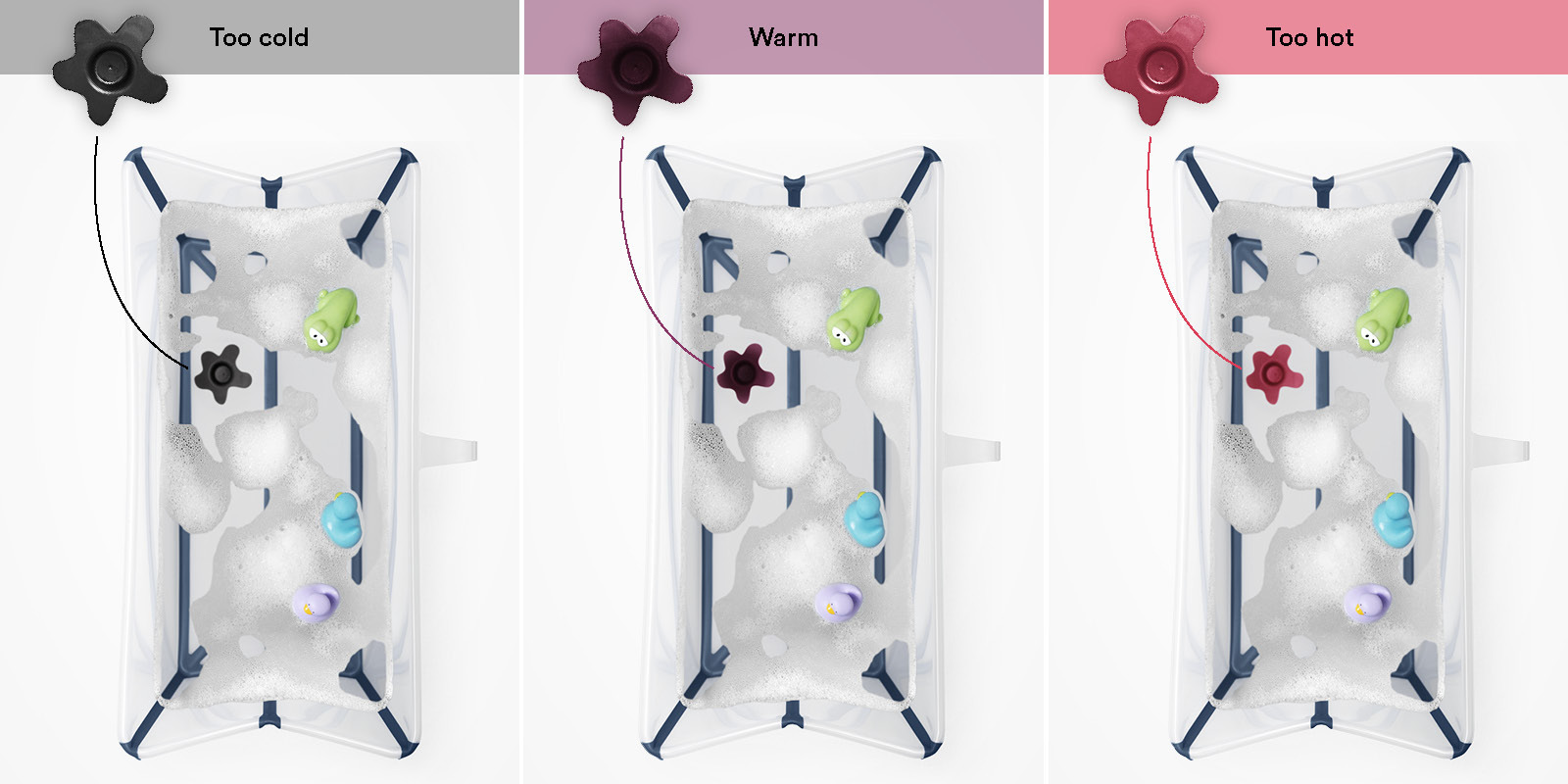 Stokke® Flexi Bath® Heat White, , emotional1