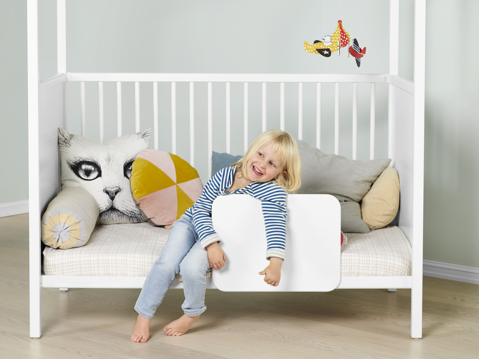 Stokke® Home™ Bed with Bed Guard.
