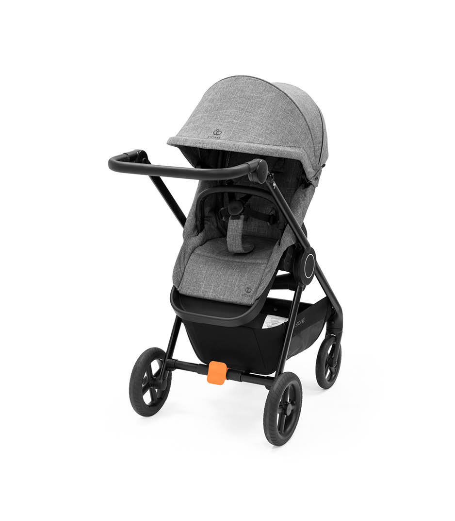 Stokke® Beat™ With Seat, Black Melange.