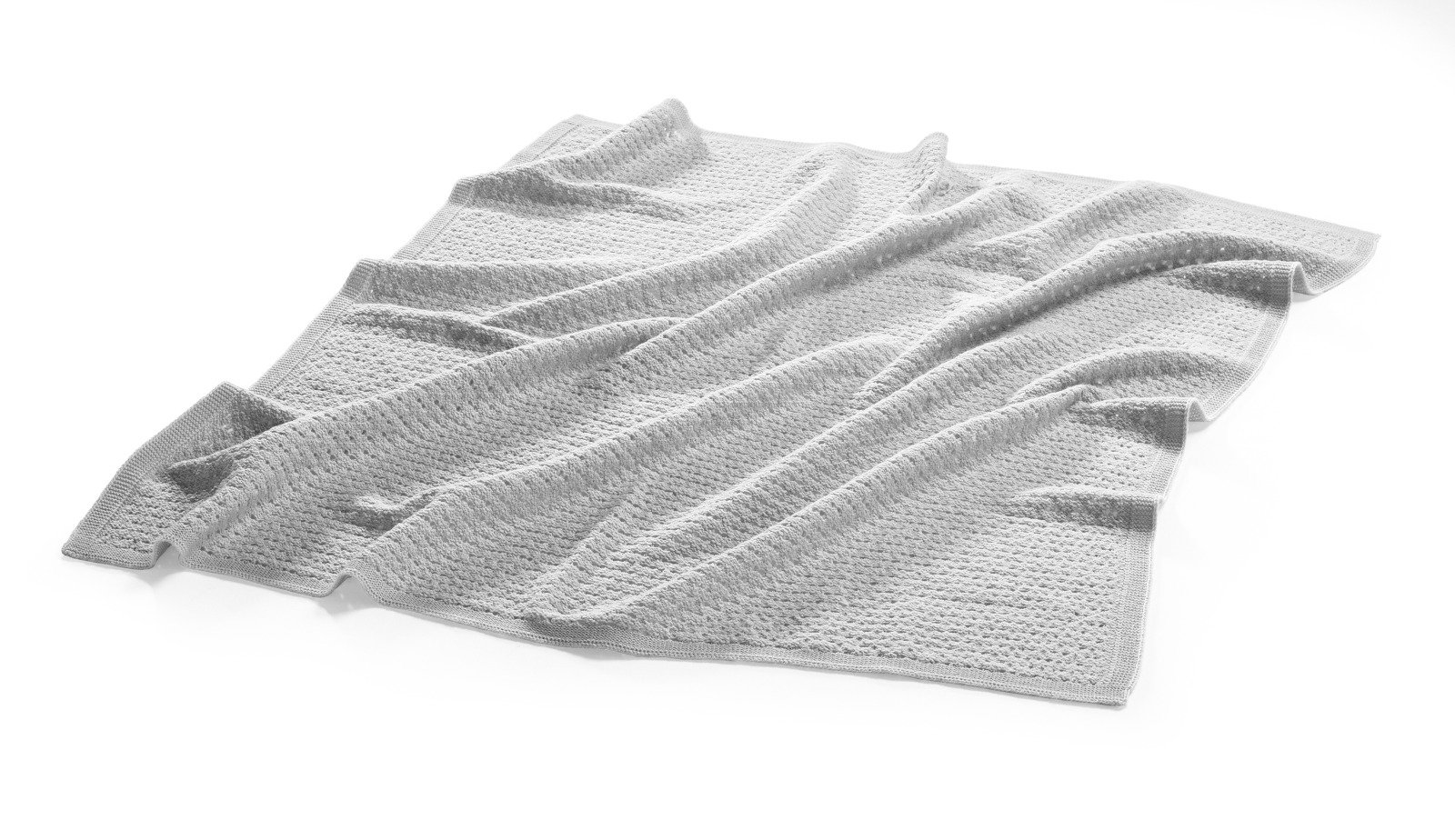 Stokke® Textiles Merino Wool, Light Grey.