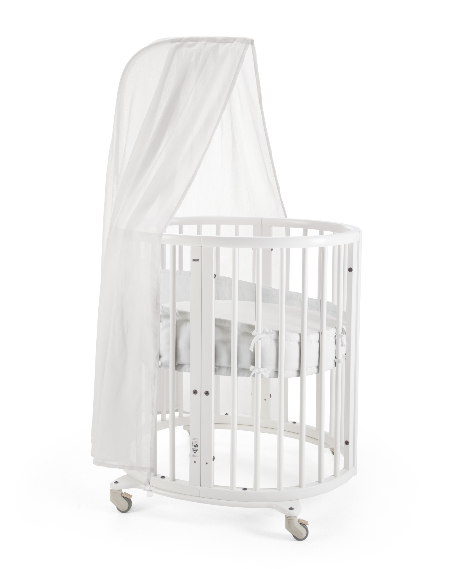 stokke sleepi mini bundle w matt white. Black Bedroom Furniture Sets. Home Design Ideas