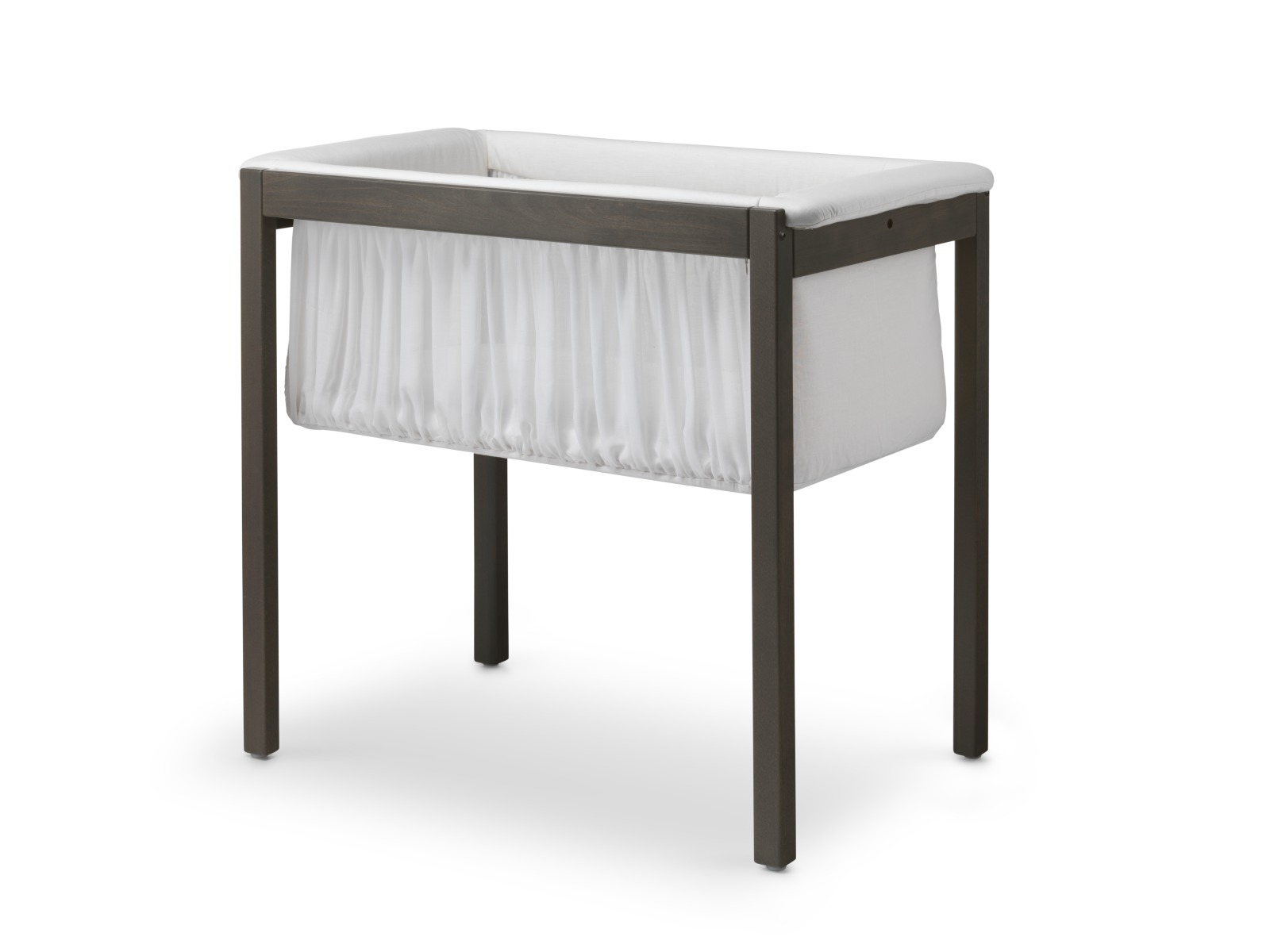Stokke® Home Cradle, on stand. Hazy Grey.