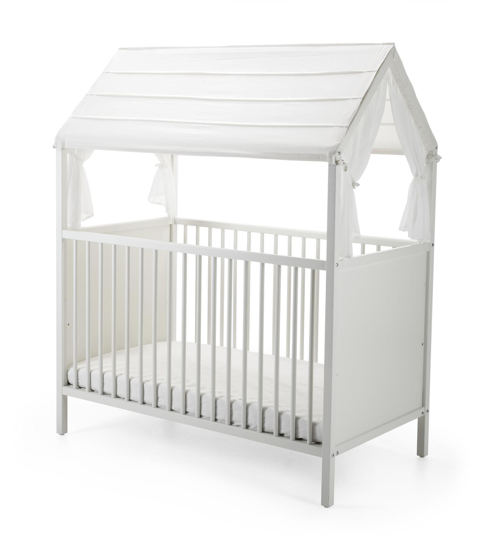 stokke home crib roof white. Black Bedroom Furniture Sets. Home Design Ideas
