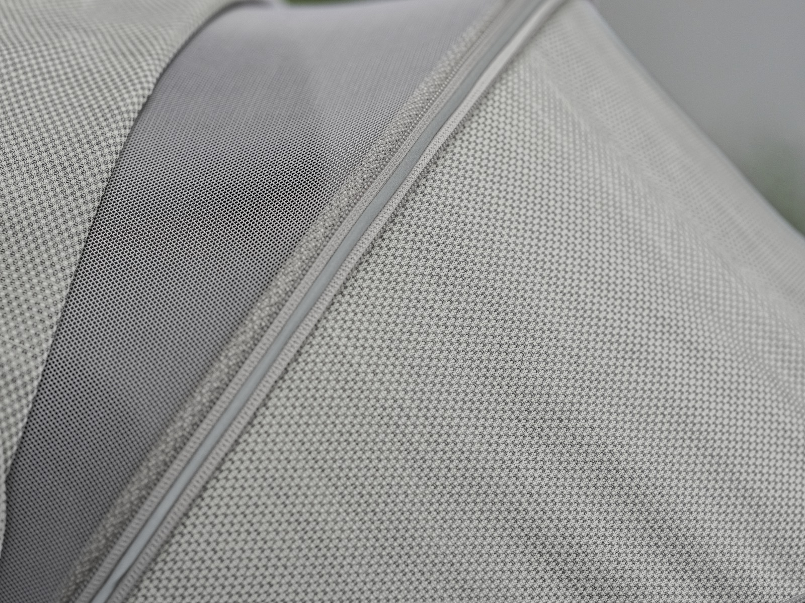 Stokke® Xplory®. Canopy, Brushed Grey. Detail