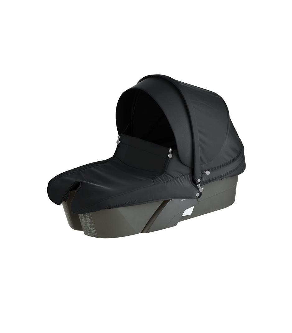 Stokke® Xplory® Carry Cot, Black.